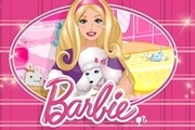 Barbie Cleaning Slacking Play